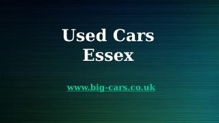 Used Cars Essex.pptx