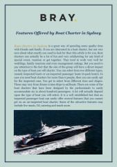 Features Offered by Boat Charter in Sydney (1).pdf
