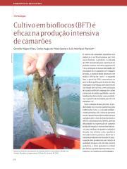 CULTIVO EM BIOFLOCOS (BFT) É EFICAZ NA PRODUÇAO INTENSIVA DE CAMARÕES - ARTIGO.pdf