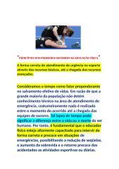 PRINCÍPIOS DOS PRIMEIROS SOCORROS NA EDUCAÇÃO FÍSICA.docx