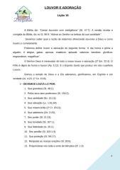 LOUVOR E ADORAÇÃO liçao 16.doc