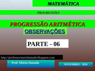 apresentação 6- pa - novembro 2010.pps