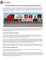 3_Things_to_Make_Your_Truck_Job_More_Memorable_This_Summer.pdf