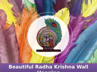 Divya Mantra beautiful Radha Krishna Wall Hanging.pptx