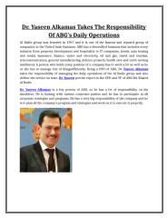 Dr. Yaseen Alkamas Takes the Responsibility of ABG's Daily operations.doc