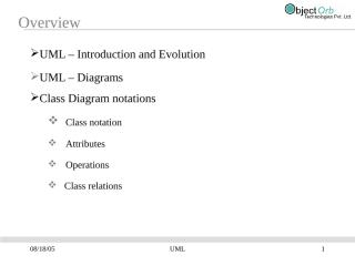 UML Introduction and Class Diagram.ppt