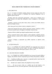 regulamento do 2º rodeio da canção serrana.doc