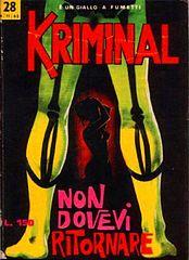 Kriminal.028-Non dovevi ritornare (Ri-Edited By Mystere).cbr