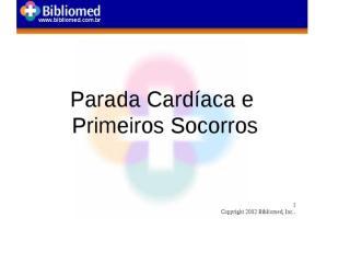 Socorrista - Parada Cardíaca.pptx